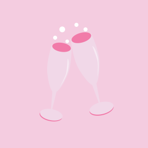 champagneglassestoast