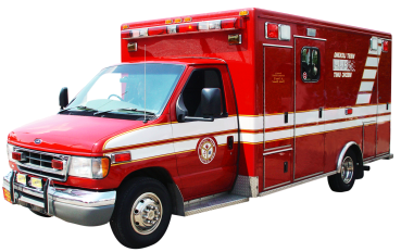 Before going to the ER, consider calling an ambulance.