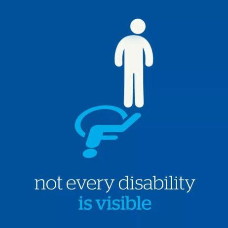 BLUE Handicapped x1